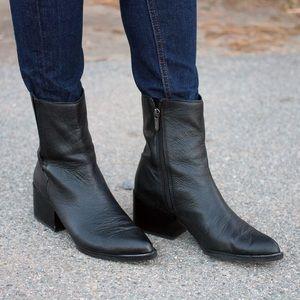 Sam Edelman Raylan Black Leather Boots